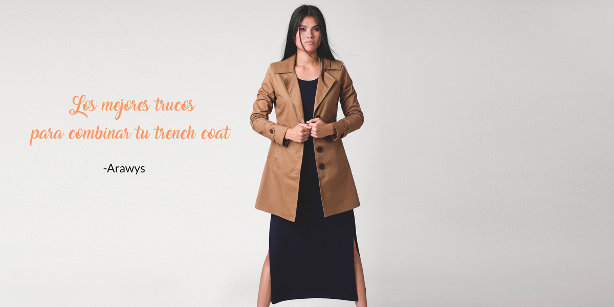 Los mejores trucos para combinar tu trench coat